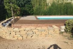 Jardinière en pierre